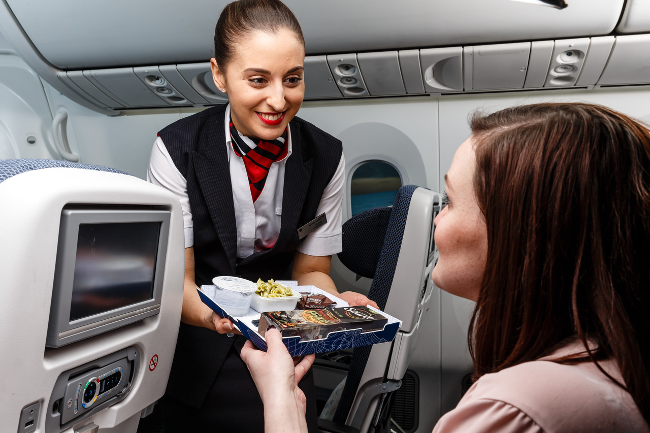 British Airways Complimentary Dining
